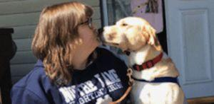 Veteran Overcomes Nightmares & Panic Attacks Thanks To Her Service Dog