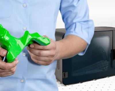 The Zortrax Apoller safely smooths 3D prints