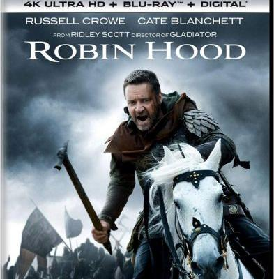 Ridley Scott's 'Robin Hood' 4K UHD Blu-ray Coming in September