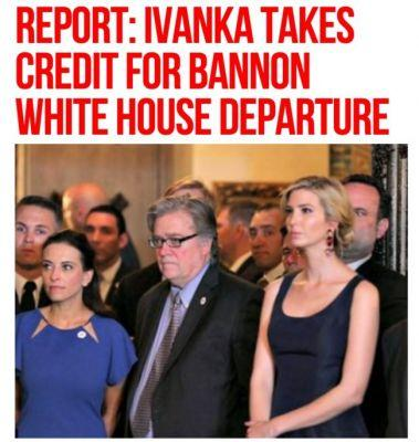 Breitbart Suggests Ivanka Trump is to Blame for Steve Bannon's Ouster
