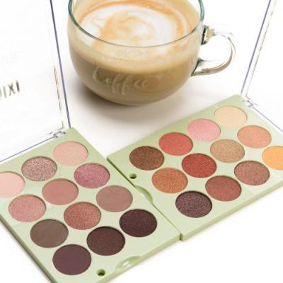 Pixi Beauty Natural Beauty & Reflex Light Eye Reflections Shadow Palette Swatches