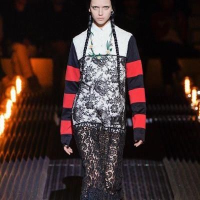 Prada's new collection is inspired by goth icon Wednesday Addams