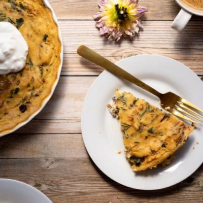 Crustless Vegan Quiche