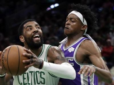 Irving's triple-double leads Celtics past Kings 126-120