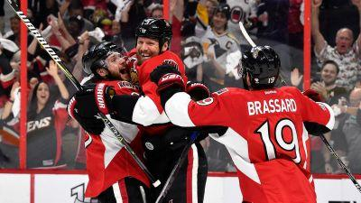 Stanley Cup playoffs three stars: 'Boring' Senators blow out Penguins in Game 3 to take series lead