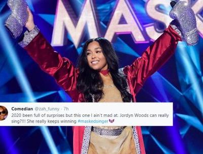 The Tweets About Jordyn Woods' 'The Masked Singer' Reveal All Say 1 Thing