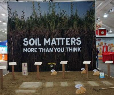 The Food Industry Can Address Climate Change through Healthy Soil