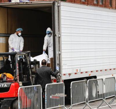Wawa sent a 53-foot refrigerated truck to store bodies of people who died of COVID-19 in New Jersey, as morgues and funeral homes struggle to keep up with the rising death toll