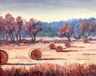 Rolling Around, New Contemporary Landscape Painting by Sheri Jones