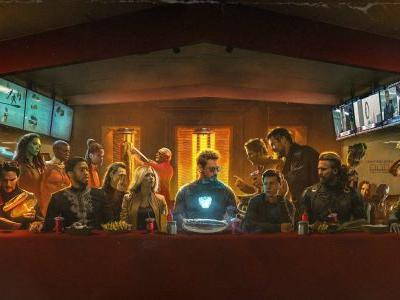 Awesome Infinity War Fan Art: Avengers' 'The Last Shawarma'