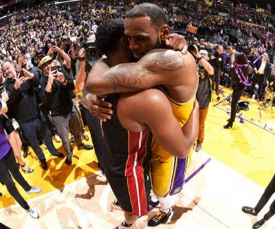 LeBron James gets best of final meeting with Dwyane Wade
