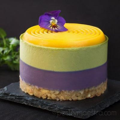 Blueberry, Matcha and Passion Fruit