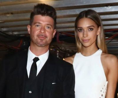Robin Thicke and girlfriend lose home to California fires