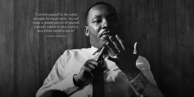 Apple commemorates Martin Luther King Jr Day by devoting homepage to photo & quote
