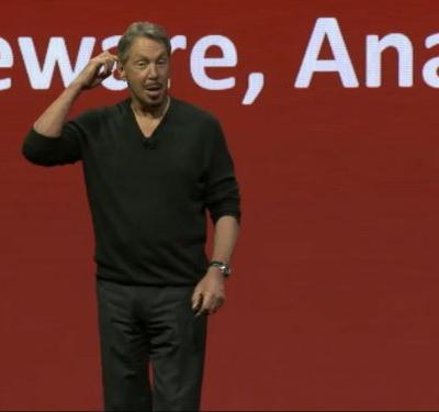 Despite Larry Ellison's hype, this Wall Street analyst believes Oracle will have a tough time growing unless it becomes more like Amazon