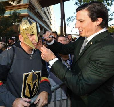 Views from Vegas as the Golden Knights prepare for home opener