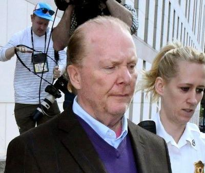 Mario Batali skips signature orange Crocs at court appearance
