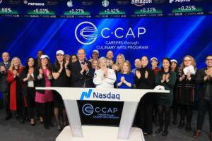 C-CAP and Nasdaq's Opening Bell Ceremony