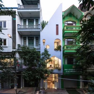 Đại Kim house / Aline Architect
