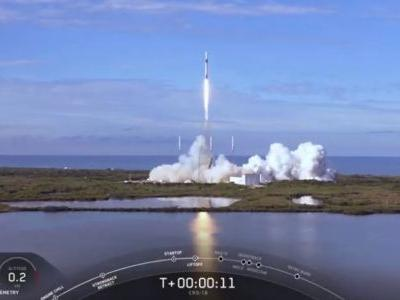 SpaceX Launches Used Dragon Capsule on Historic 3rd Cargo Run to Space Station