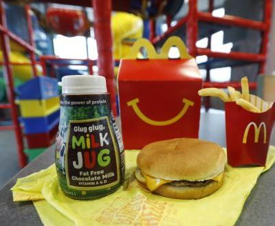 No more cheeseburgers: McDonald's slims down Happy Meal