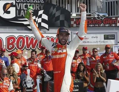 Chase Elliott wins first career cup series race at Watkins Glen