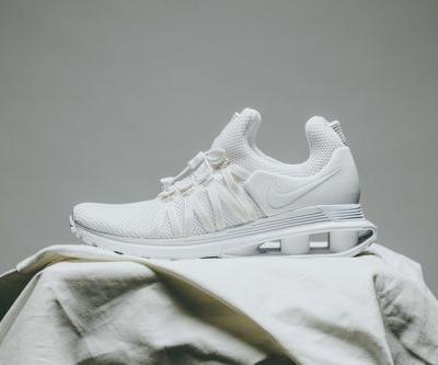Nike Shox Gravity Gets a New Triple-White Colorway