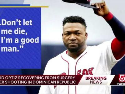 Ortiz recovering from surgery after shooting