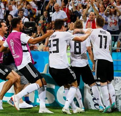 Germany stuns Sweden on Toni Kroos' last-gasp goal to resuscitate World Cup hopes