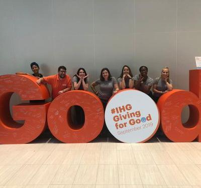 IHG's second annual Giving for Good month sets new record as 160,000 colleagues give back to communities