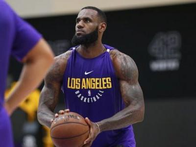 Lakers Video: LeBron James Works Out With Brandon Ingram, Kyle Kuzma At Practice Facility