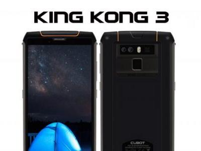 CUBOT KingKong 3 - New Helio P23 Powered Rugged Phone is Coming