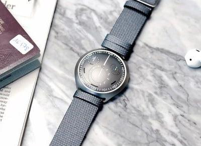 Ressence's snazzy concept watch pairs with your phone for accurate timing