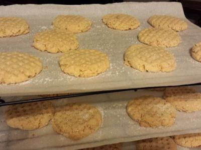Freshly Ground Peanut Butter Cookies