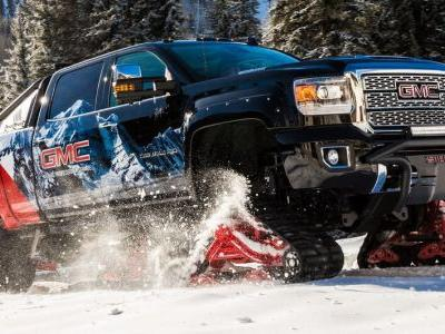 GMC Sierra All Mountain Concept Laughs In The Face Of Snow