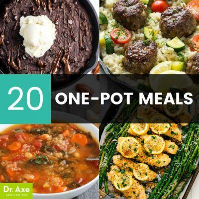 20 One-Pot Meals - Easy, Fast & Healthy