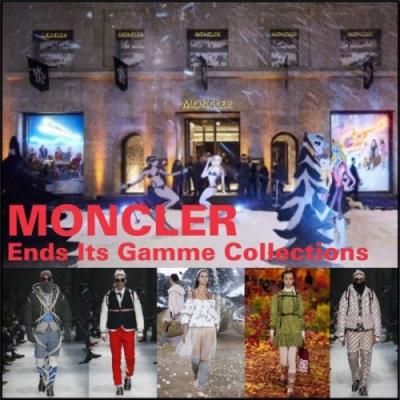 Moncler Ends Its Gamme Collections