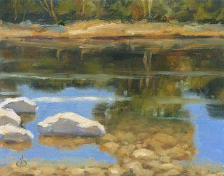 REFLECTIONS IN WATER by TOM BROWN