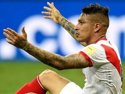Peru captain Guerrero to miss World Cup play-off after testing positive for banned substance