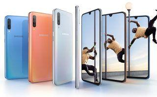 Samsung Galaxy A70 official with Infinity-U display and triple-cams