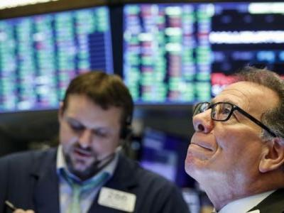 Dow climbs as US unemployment filings hit 6.6 million, doubling previous record
