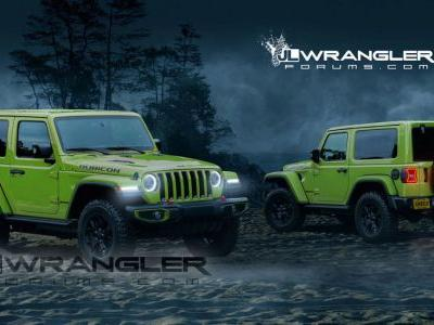 All-New 2018 Jeep Wrangler Looks The Goods In Two-Door Guise