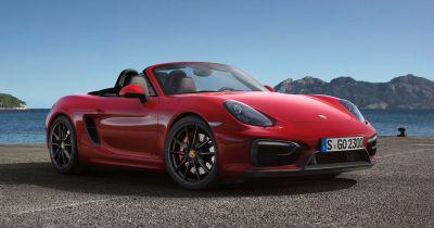 Porsche Is Developing A More Sonorous Flagship 718 Boxster