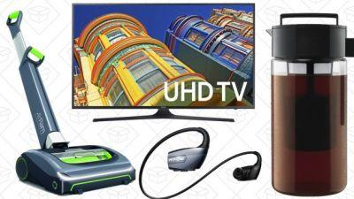 Today's Best Deals: 4K Samsung, Cordless Vacuum, Wireless Headphones, and More