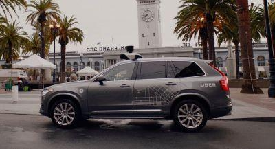 Uber Pulls Self-Driving Volvos Off San Francisco Streets