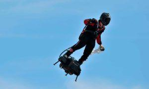 French inventor to cross the English Channel on jet-powered hoverboard