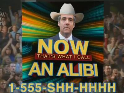 Late Show Parodies Giuliani Ally's 'Garth Brooks Defense' as Music Collection: 'The Greatest Cover Songs to Cover Your Ass""