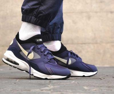 """Nike Gives the Air Max 93 a """"Purple Patch"""" Makeover"""