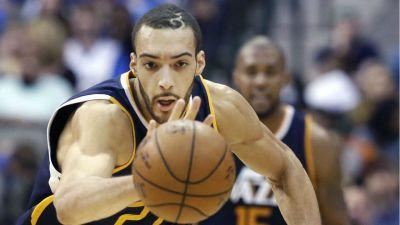 Rudy Gobert has 27 points, 25 rebounds in Jazz OT win at Mavericks