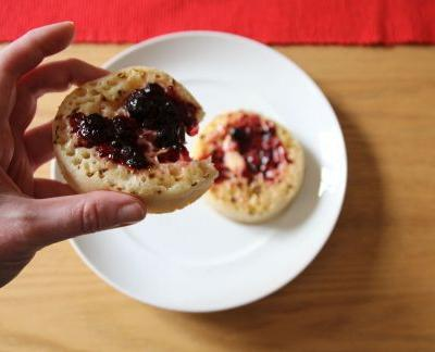 Bread expert reveals why crumpets have holes in them